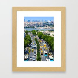 Istanbul Aqueduct Framed Art Print