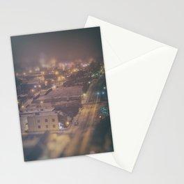 OKLAHOMA ICE NIGHT Stationery Cards