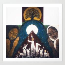 Transcendence: The Power of Women Art Print