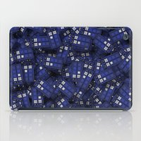 doctor iPad Cases featuring Tardis by 10813 Apparel