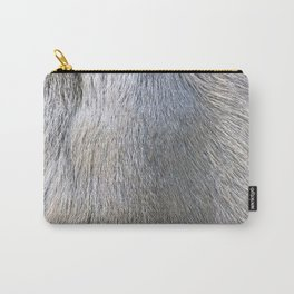 Rabbit Fur Carry-All Pouch
