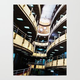 Curved walkways Poster