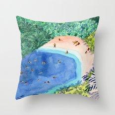 French Paradise Throw Pillow