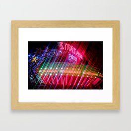 All Aboard the Starship carnival ride Framed Art Print