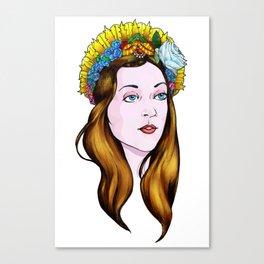SAINT ANNE Canvas Print
