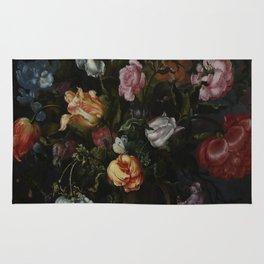 Jacob Vosmaer - A Vase with Flowers (1613) Rug