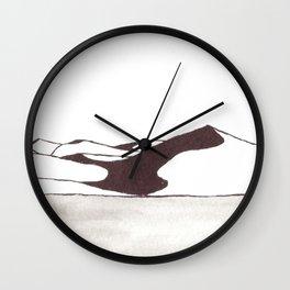 Dunes 2 - Namibia Wall Clock
