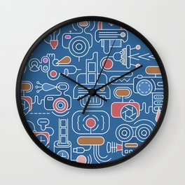Photography Equipment Wall Clock