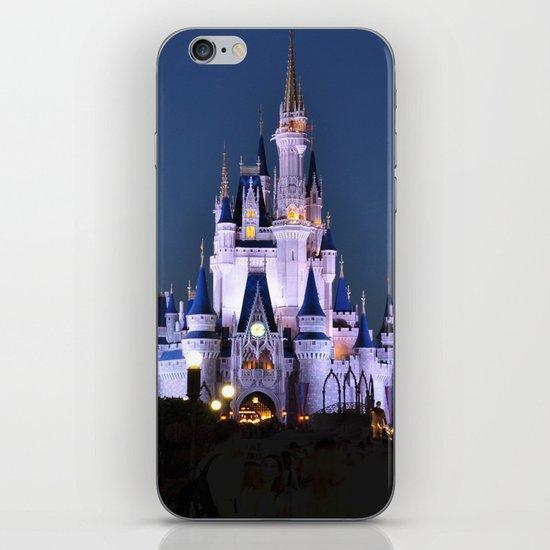 Cinderella's Castle II iPhone & iPod Skin