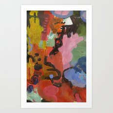 ColourAbstract Art Print