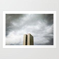 Brasilia, Brazil  Art Print