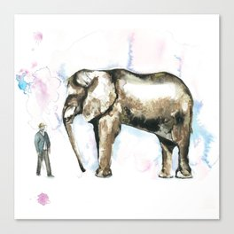 Jumbo elephant Canvas Print