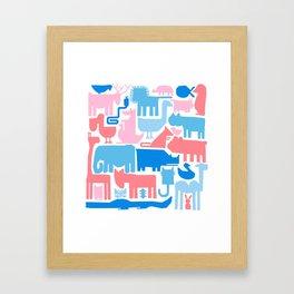 zo0 Framed Art Print
