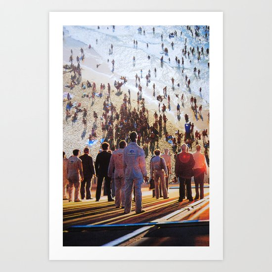 Life Moves Pretty Fast Art Print