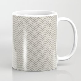 Chevron Gold Coffee Mug