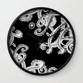 The Dark octopus world Wall Clock