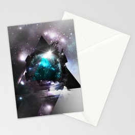 Space, man Stationery Cards