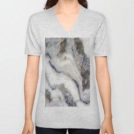 Marble Stone Texture Unisex V-Neck
