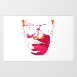 Zebra_Katz ANALOG zine Art Print