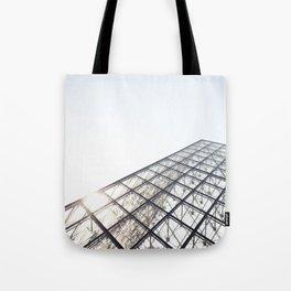 Peak of the Louvre Tote Bag