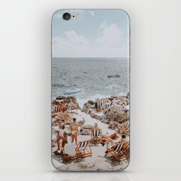 capri, italy iPhone Skin