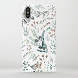 Eucalyptus Leaf iPhone Case