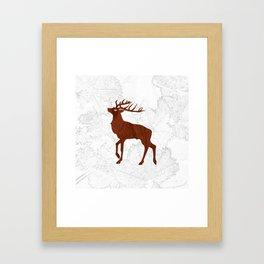 Les Bois Framed Art Print