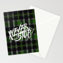 Never Stop 4 Stationery Cards
