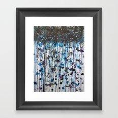 the weatherman lied Framed Art Print