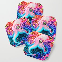 GlitterOctopus Coaster