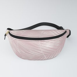 Rose Gold Shine Fanny Pack