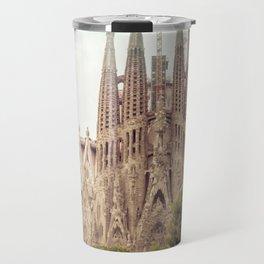 Sagrada Familia in Barcelona Travel Mug