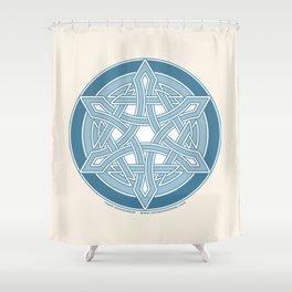 Star of David 2 Shower Curtain