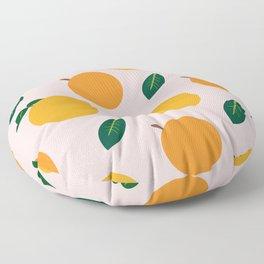 Oranges or Peaches? Floor Pillow