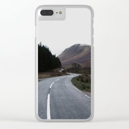 Road through the Glen Clear iPhone Case