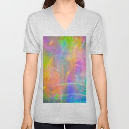 Prisms Play of Light 2 Unisex V-Neck