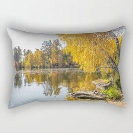 Autumn Lake Rectangular Pillow