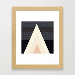 Conical Tent Framed Art Print