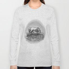 The Transformation: Elise the Unicorn Long Sleeve T-shirt
