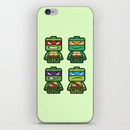 Chibi Ninja Turtles iPhone Skin