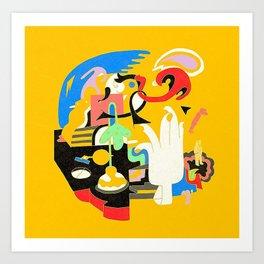 Faces - Mac Miller Canvas Art Print