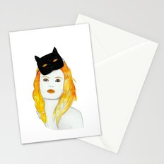 Be a cat Stationery Cards