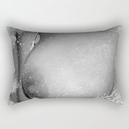 Naked breast Rectangular Pillow