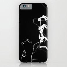 Black light iPhone 6s Slim Case