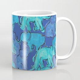 Blue Ellie Coffee Mug