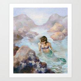 The Lonely Tidal Pool Art Print
