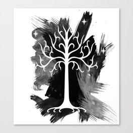 The White Tree of Gondorr Canvas Print