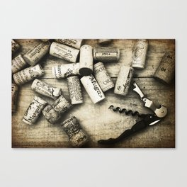Corked Canvas Print