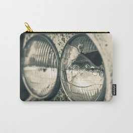 Broken Headlight on Vintage Pick-up Truck 2 Carry-All Pouch
