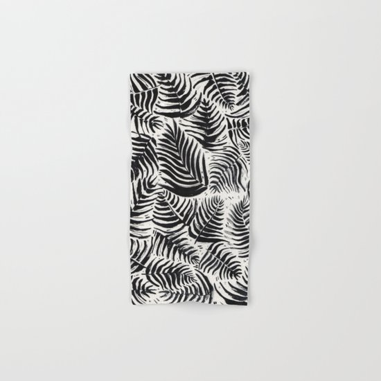 Palm Pattern Hand & Bath Towel